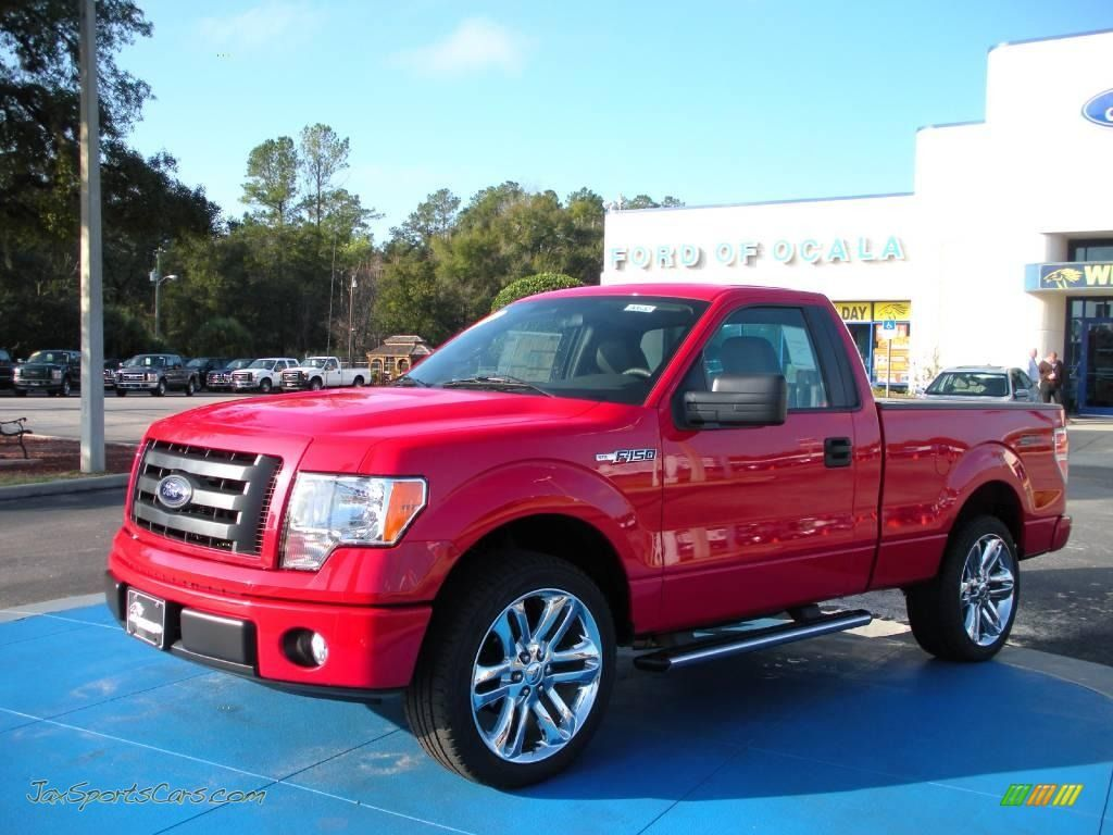2009 Ford F150 Stx Regular Cab In Razor Red Metallic C94357