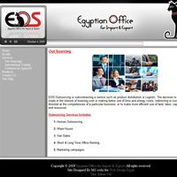 Egyptian Office For Import And Export Web Development Design Portfolio Web Design Web Design