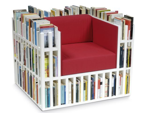 Clever Chair Designs For The Book Lover In All Of Us Bookshelf