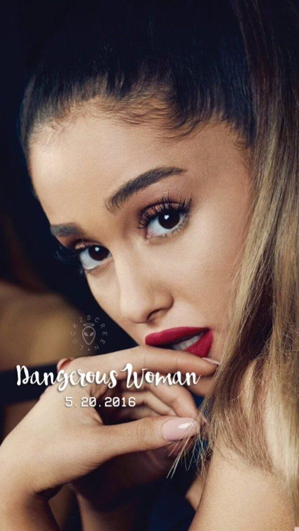 Wallpaper Lockscreen Ariana Grande DW
