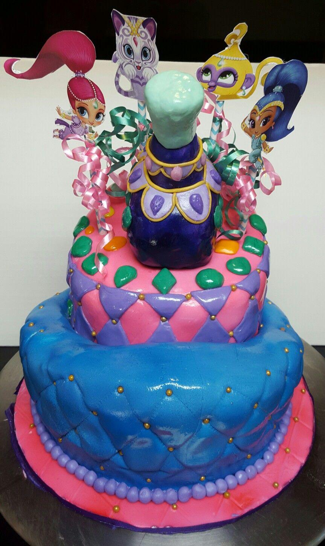 Shimmer And Shine Birthday Cake Kid Cakes Shimmer