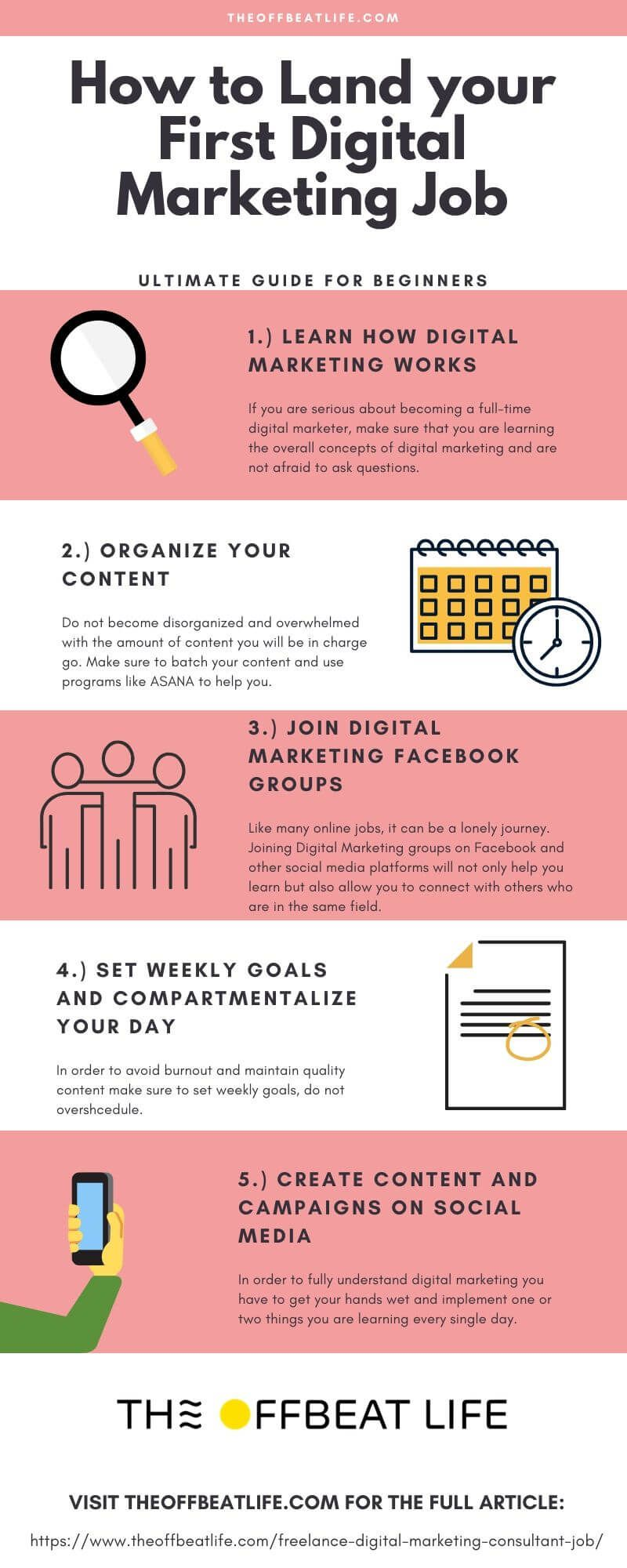 15 Tips On Landing Your First Freelance Digital Marketing Consultant Job In 2020 Marketing Consultant Marketing Jobs Digital Marketing Plan