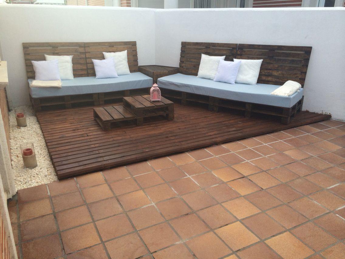 Terraza pallets