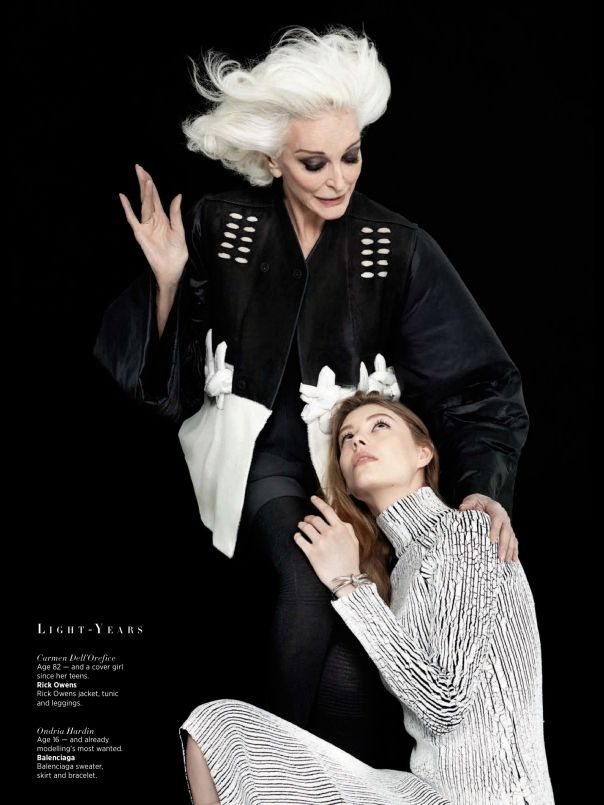 CARINE ROITFELD ET KARL LAGERFELD IMMORTALISE DES BEAUTÉS SINGULIÈRES POUR HARPER'S BAZAAR - Boutique VIA UNO arrive à Paris - Le blog de Bettyboop - Be.com