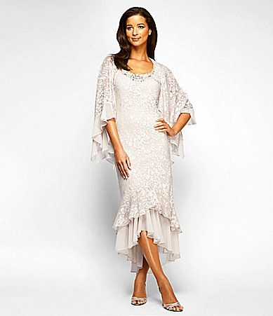 Dillard's Dresses Tea Length