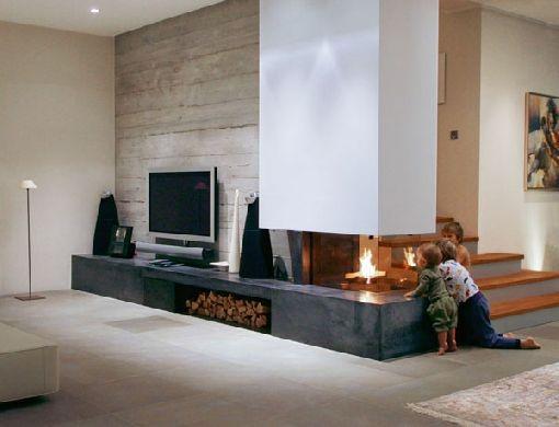 Homeplaza - Avantgarde Öfen verzaubern Wohnräume in luxuriöse - moderne luxus wohnzimmer
