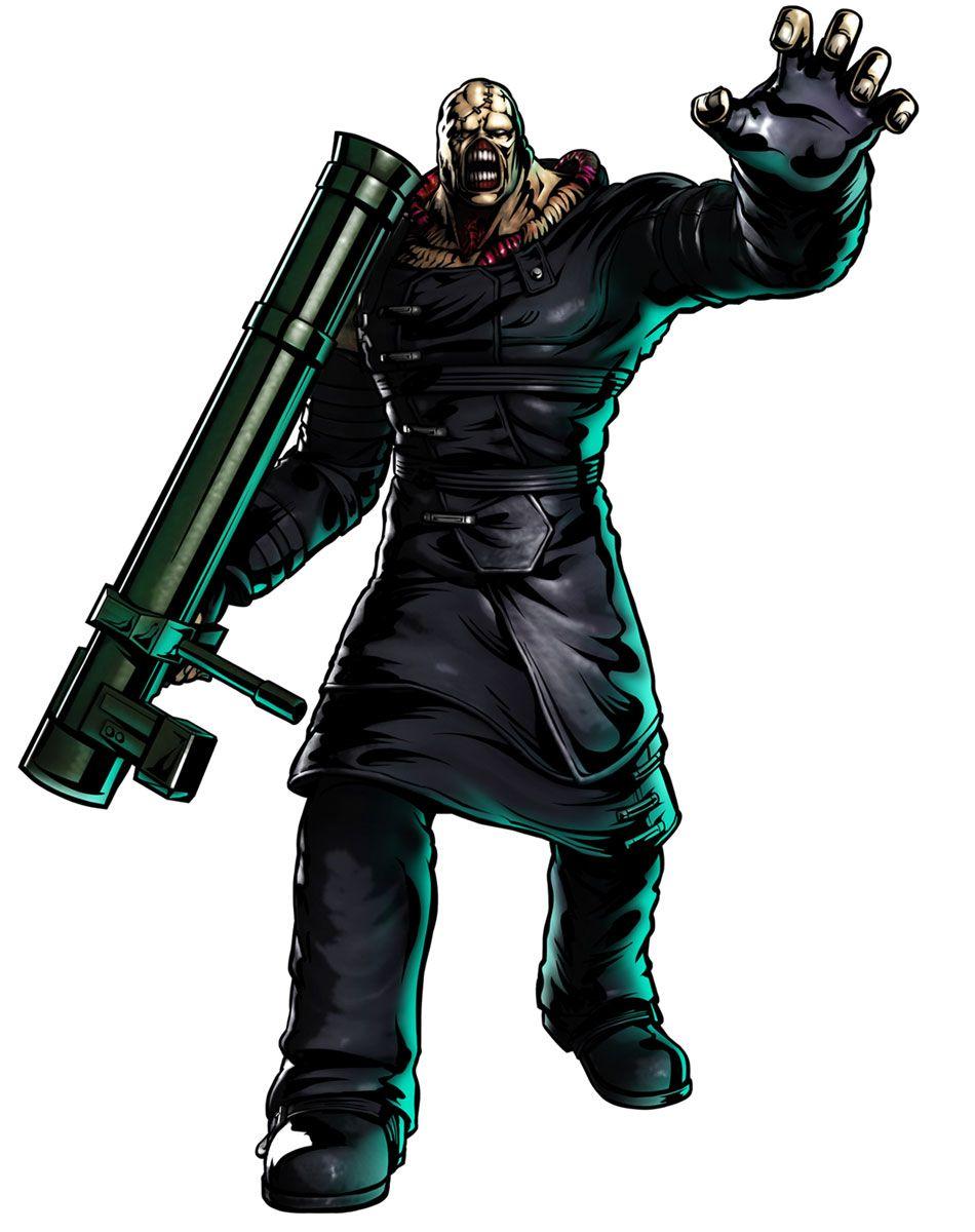 Ultimate Marvel vs  Capcom 3 MVC3 Character Render Nemesis