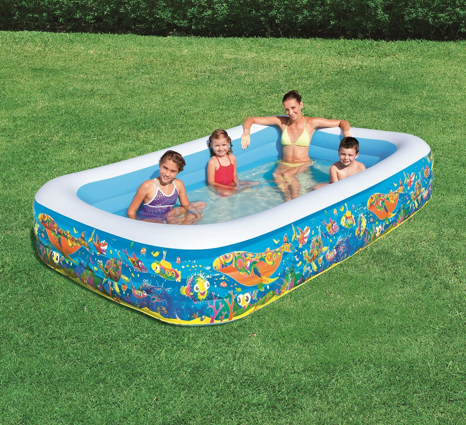 H2ogo Inflatable Family Play Pool Click Image For More