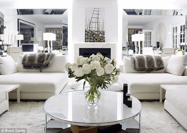 All White Interiors interiors: all white wow! | white living rooms, living rooms and room