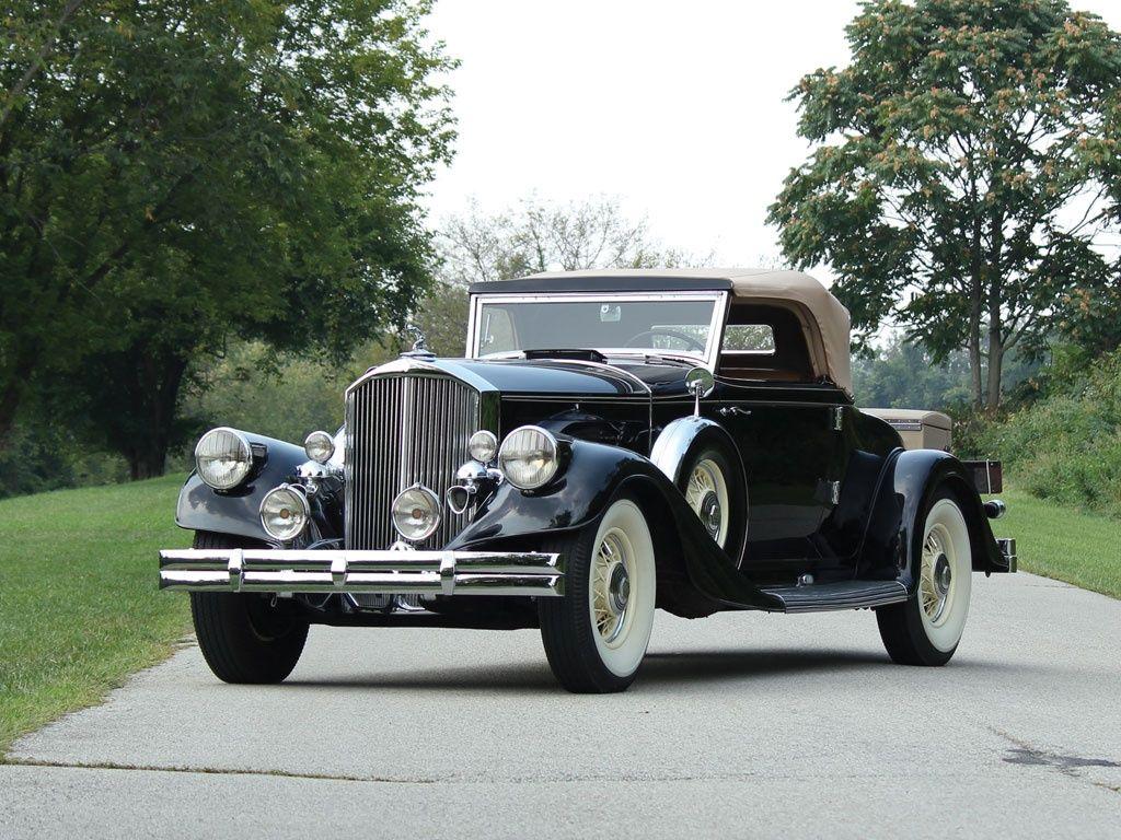 1933 Pierce Arrow Twelve Photo Via Classic Driver Lease Vintage Simplelease Roadsters