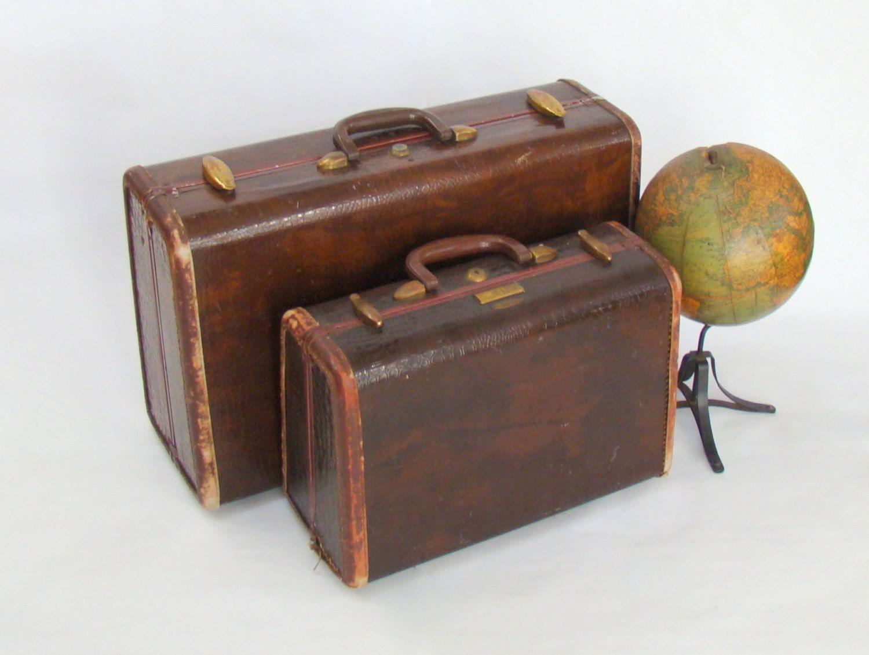 Vintage Samsonite; Train Case; Vintage Luggage; Vintage Suitcase; Travel Theme; Vintage Trunk; Brown Suitcase; Storage; Vintage Samsonite by PurpleMouseStories on Etsy