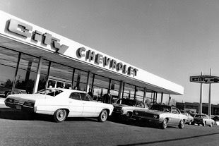 City Chevrolet Dealership 1969 With Images Chevrolet