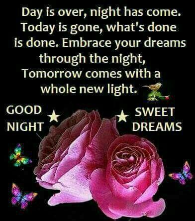 Good Night Sweet Dreams Good Night Good Night Good Night