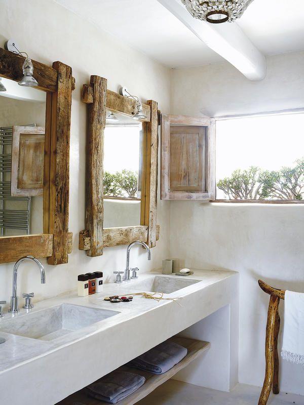 Cómo decorar la zona del lavabo con encanto | Pinterest | Cuarto de ...