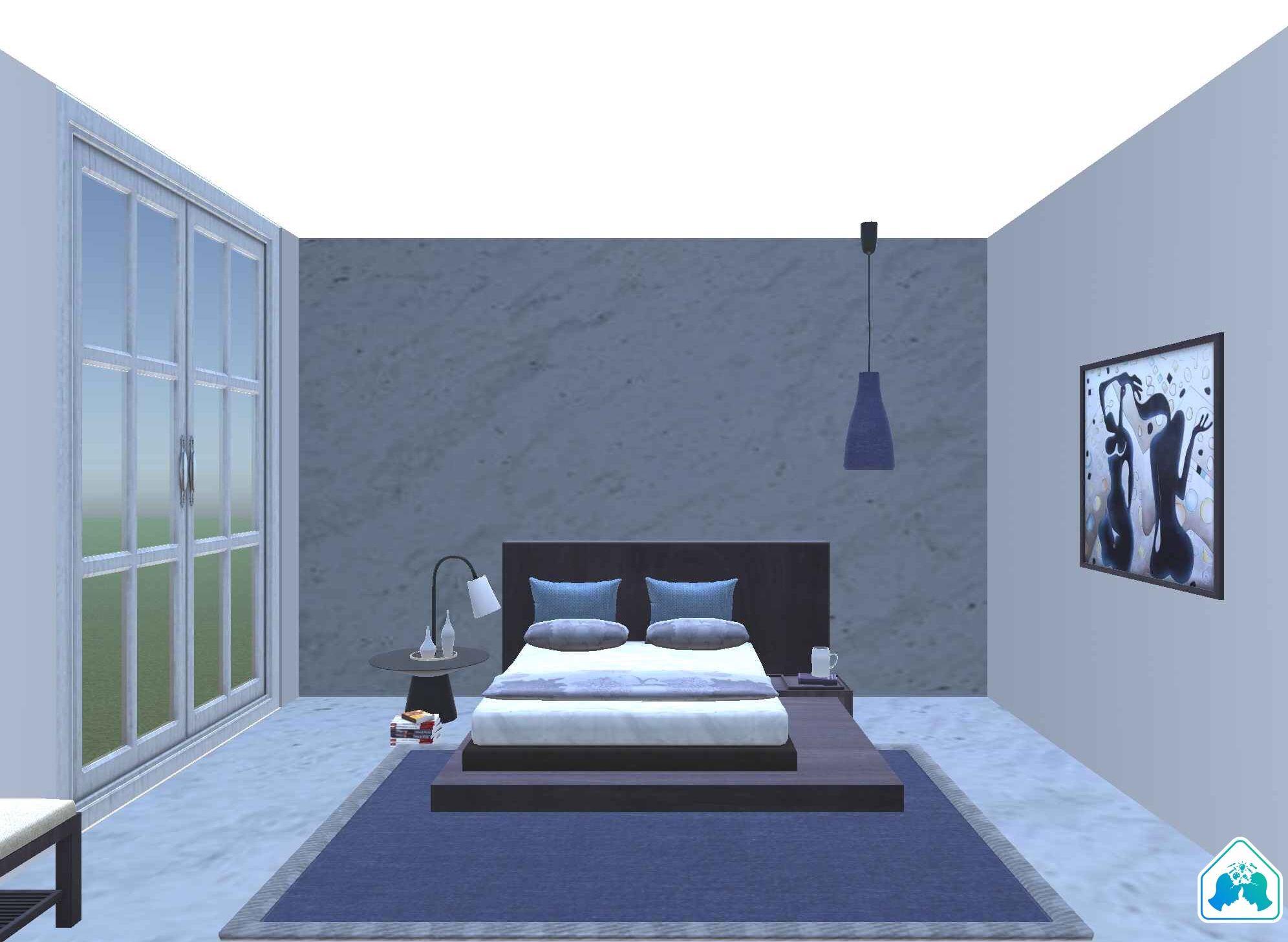 Created with Design Crasher 3D app. Modern minimalist