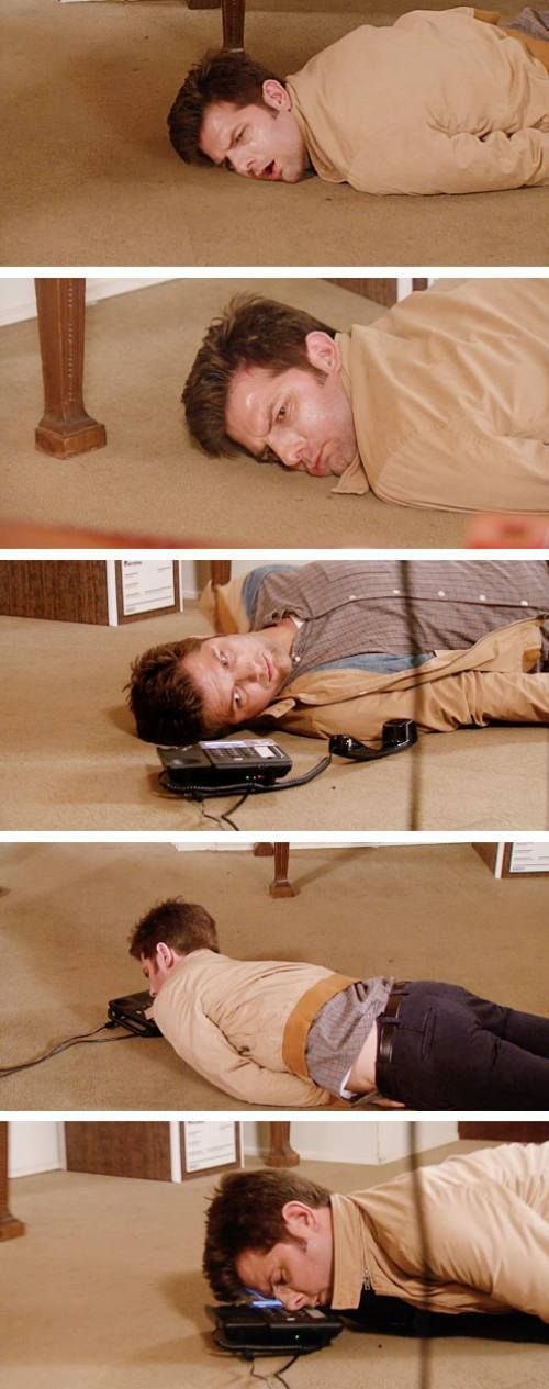 Parks And Rec When Ben Chris And Ron Got Food Poisoning Best