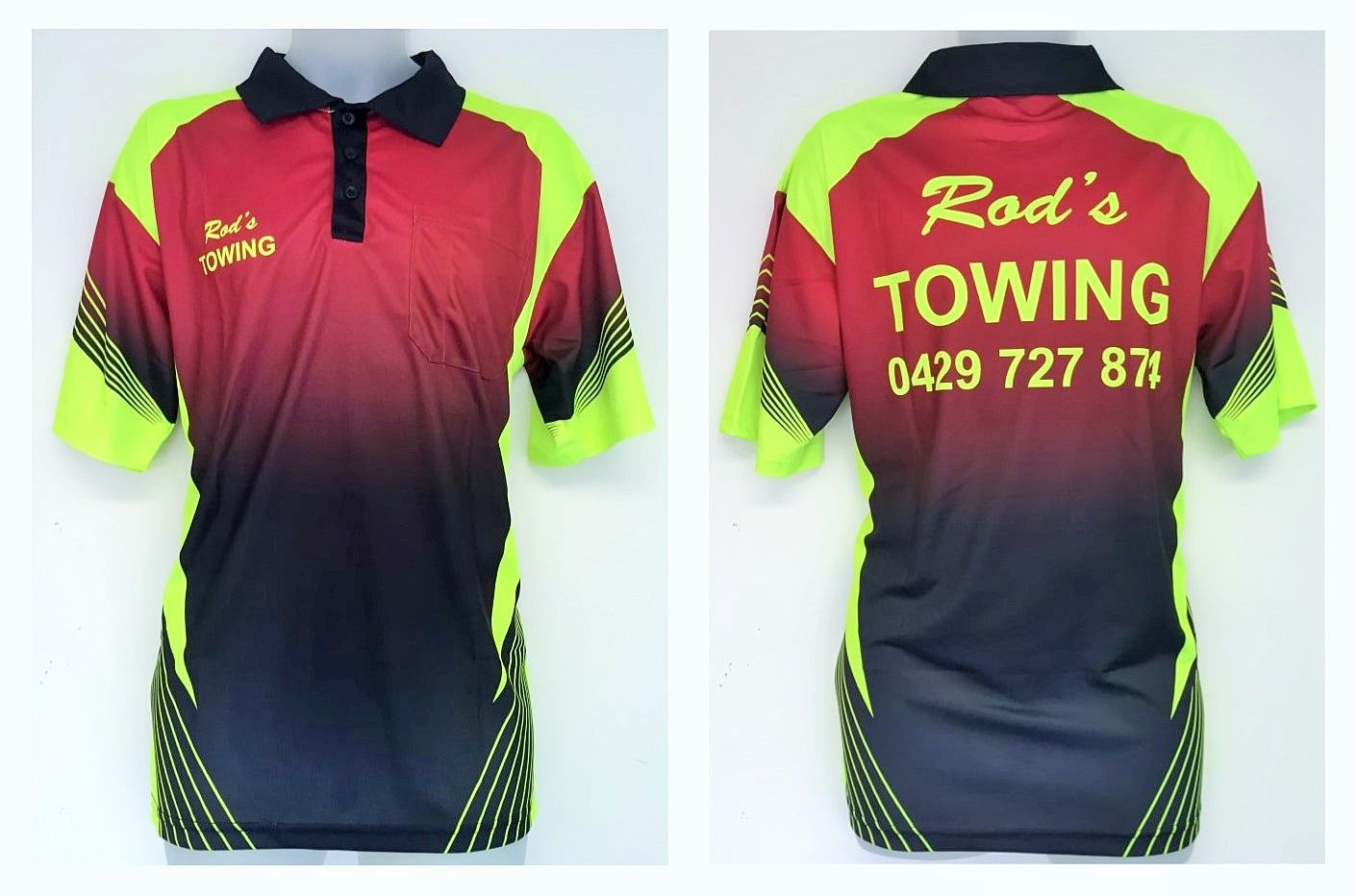 Polo shirt design your own - Here Is Another Simple Yet Bright And Effective Polo Shirt Designed For Rods Towing Visit