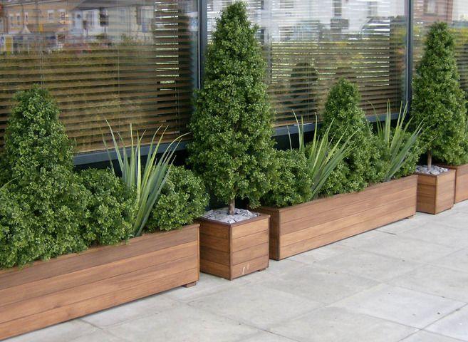 Jardines artificiales en interior y en exterior ideas decoraci n el blog de plan - Plantas artificiales exterior ...