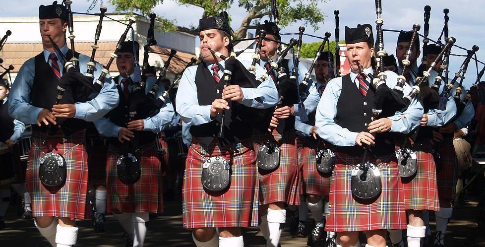 Scottish Fest USA Celtic festival, Highland games