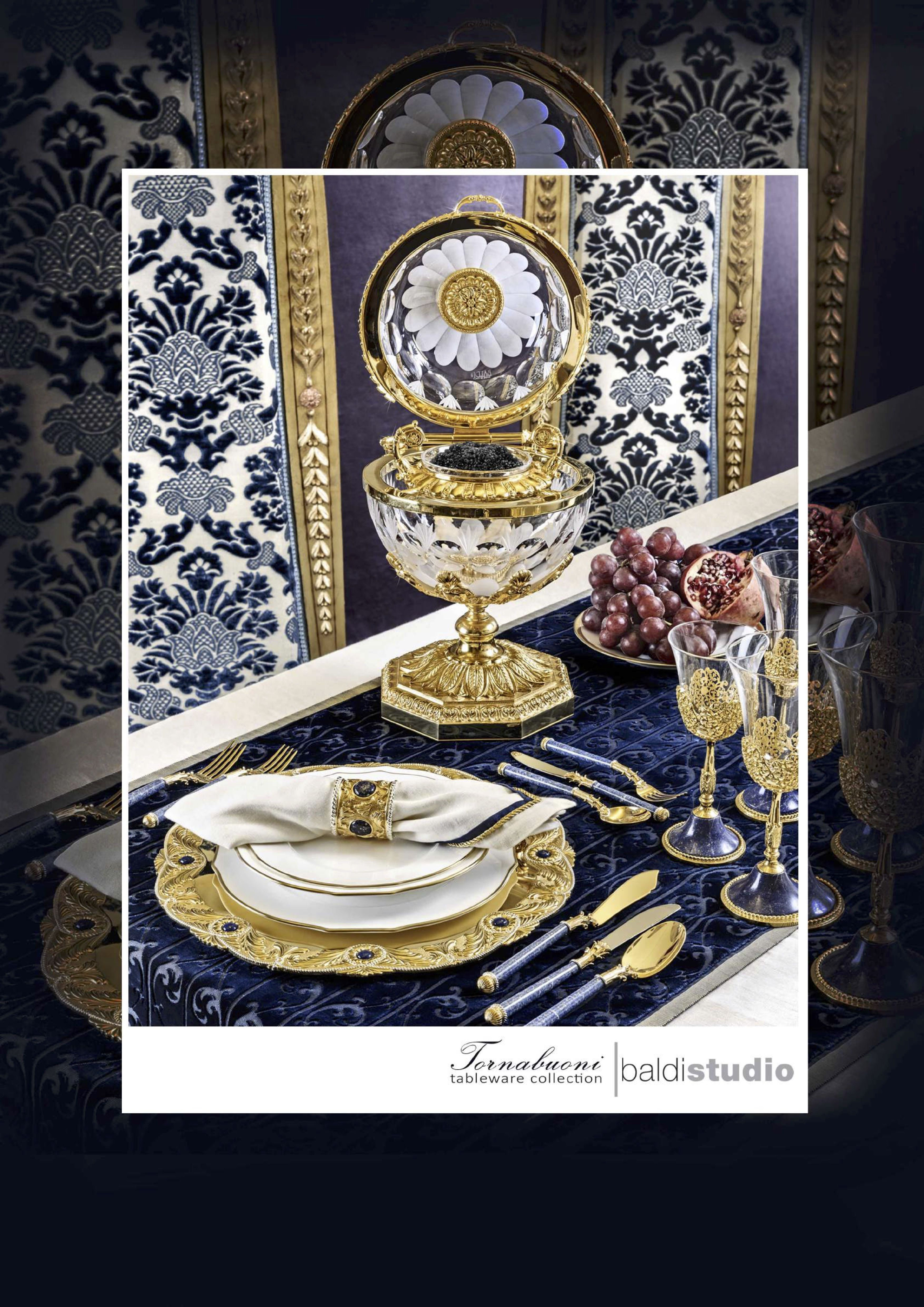 Tornabuoni Collection From Baldi Art De La Table Baldi Is A Story Of Art From 1867 Home Jewels Hand Made Luxury Tableware Tableware Design Luxury Furniture