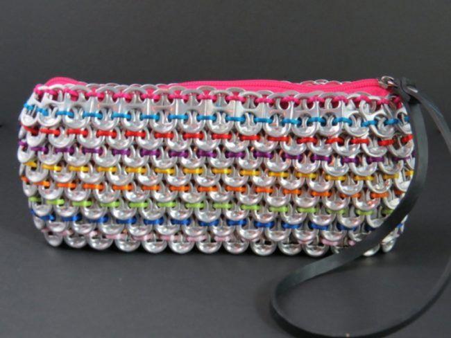 41632ecad2670 Schmuck-aus-Dosenverschlüssen-tasche-farben-bunt