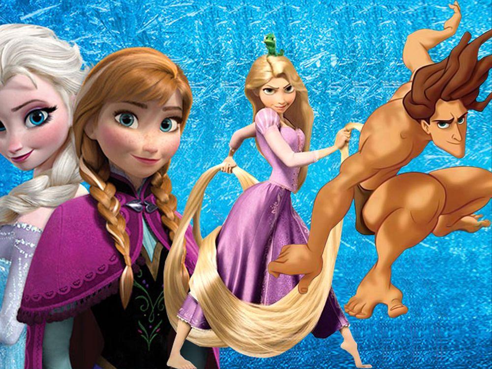 Frozen parents rapunzel wedding dress