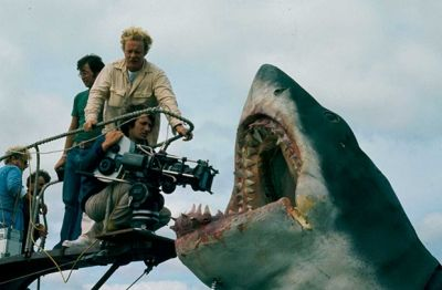 There Were A Number Of Production Problems Most Notably Among Them The Malfunctioning Shark Though It Often Delivers Whe Behind The Scenes Spielberg Scenes