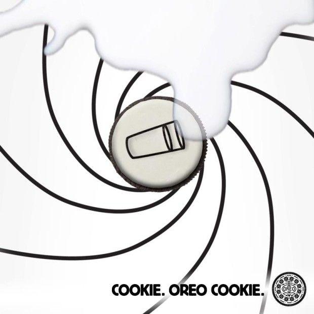 James Bond Meets Oreo. Happy Birthday, Oreo! Our 10 Favorite Oreo Facebook Moments #007