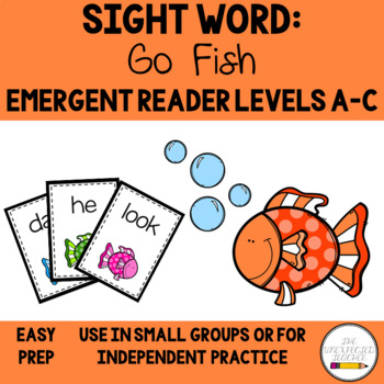 Level A-C: Guided Reading Sight Word Go Fish