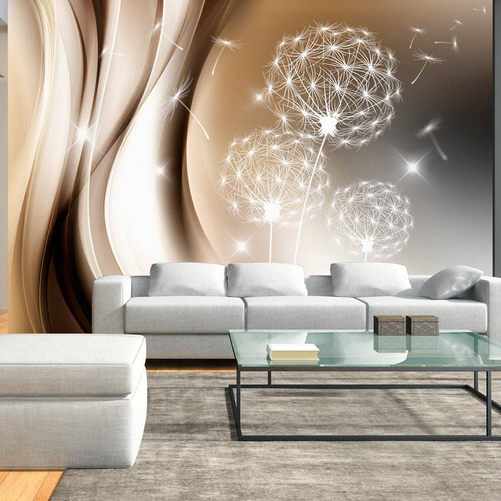 Vlies Fototapete 3 Farben Zur Auswahl Tapeten Pusteblume Abstrakt  -> Mural Parede Sala