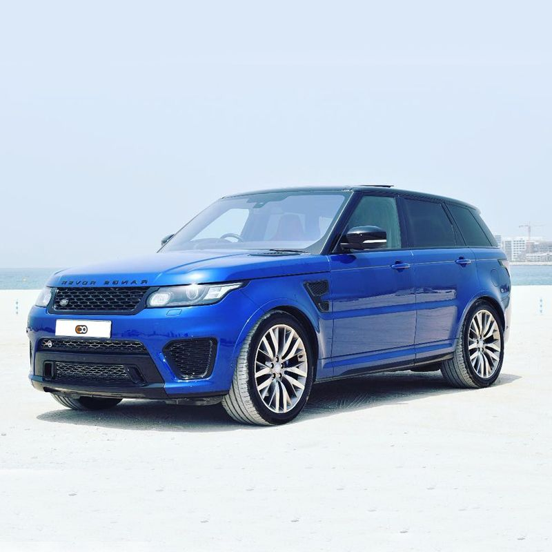 Drive the Land Rover Range Rover Sport SVR in Dubai