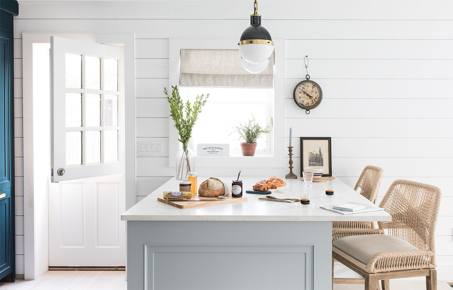 Our Beach House Kitchen: The Reveal | Beach house kitchens, Kitchens ...