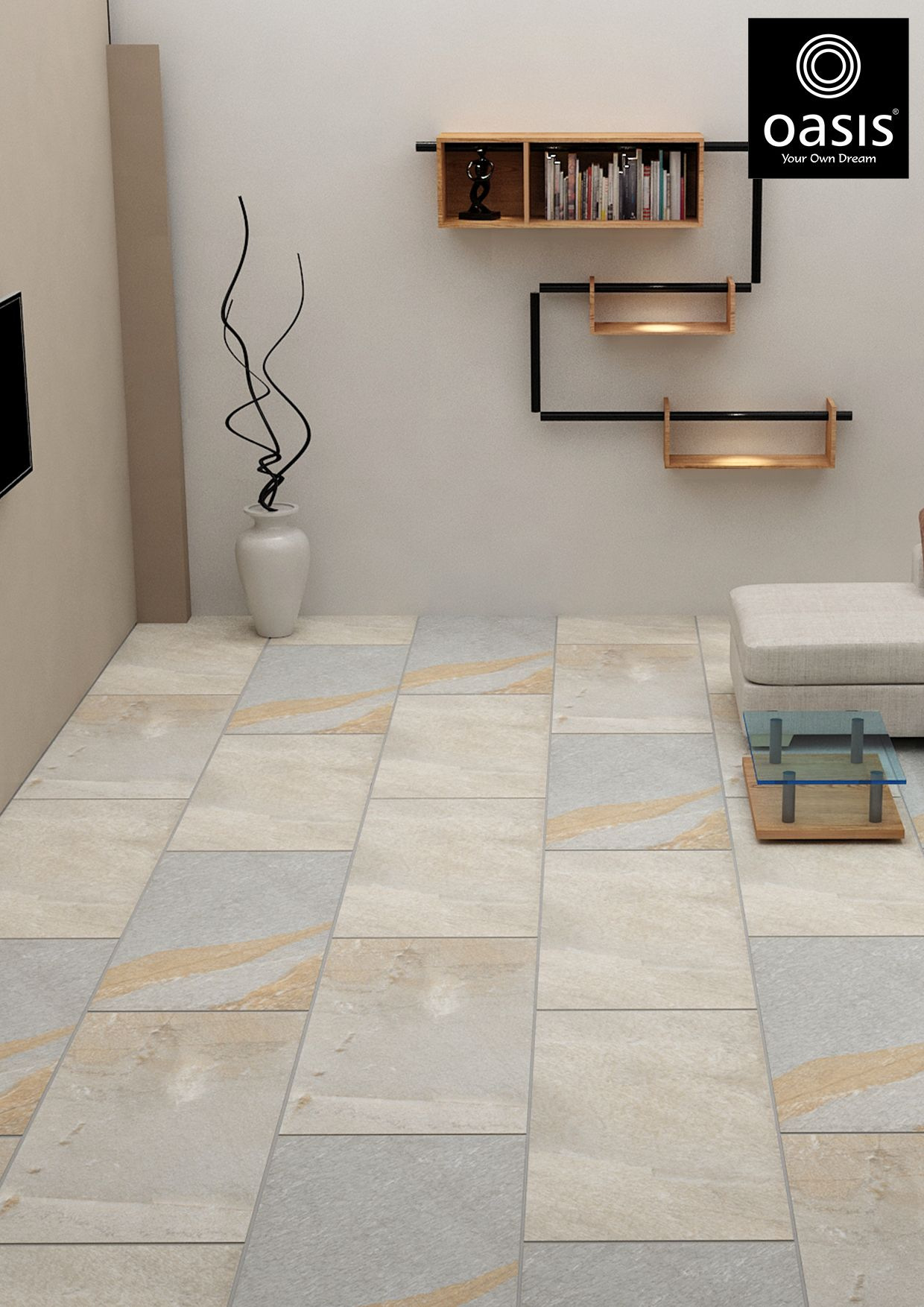 Pin by Oasis Tiles - India on Best Floor Tiles for Living Room ...