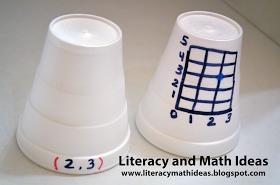 Literacy  Math Ideas: Use Cups to Teach Math