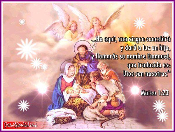 Dios Con Nosotros Jesus Christmas Images Christmas Prayer Jesus Photo