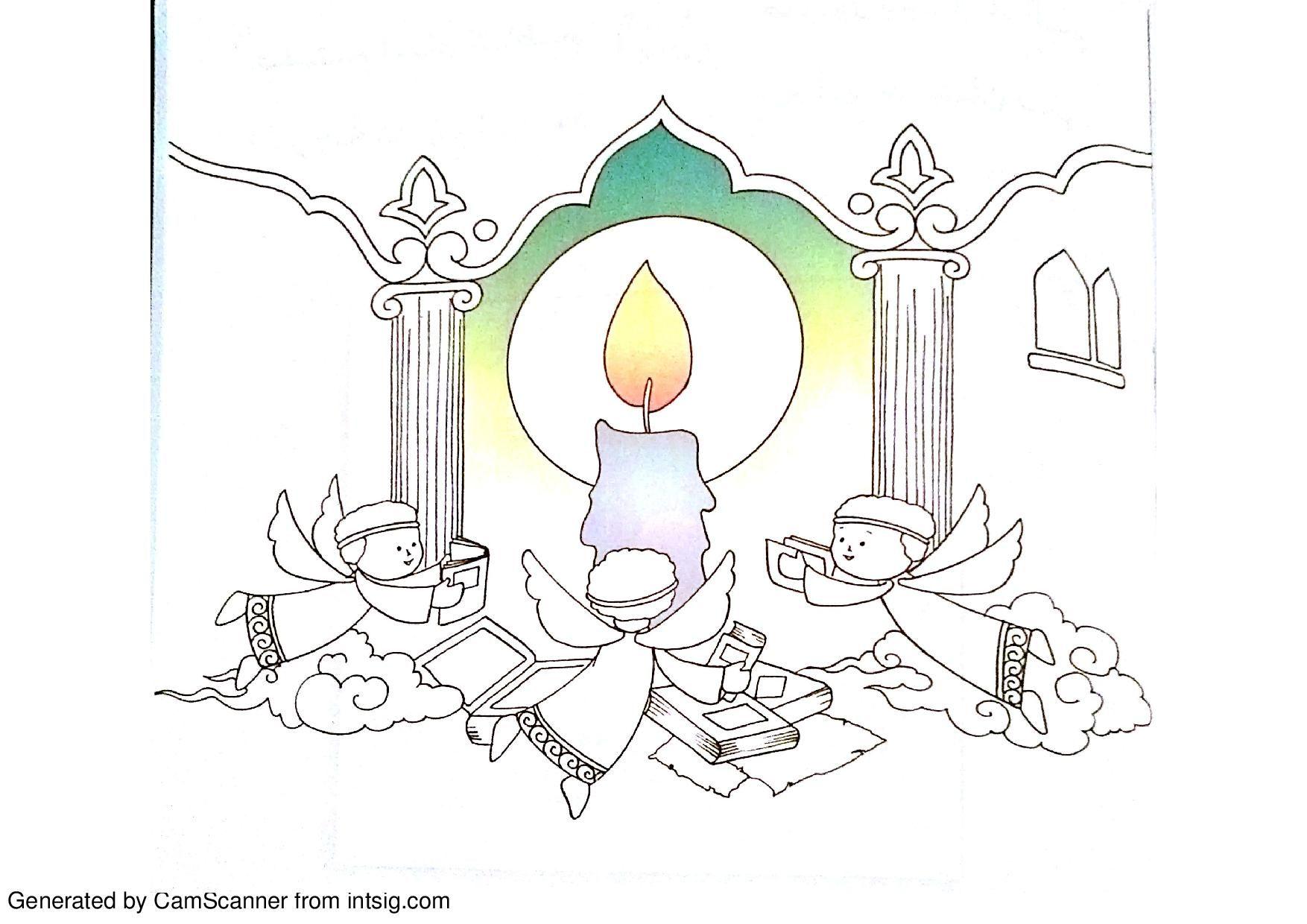 6th Imam Jaafar Assadigh Coloring