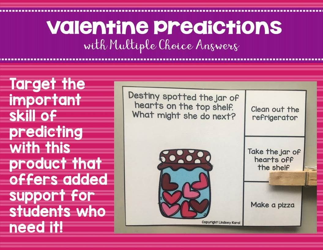 Valentine Predictions With Multiple Choice Answers