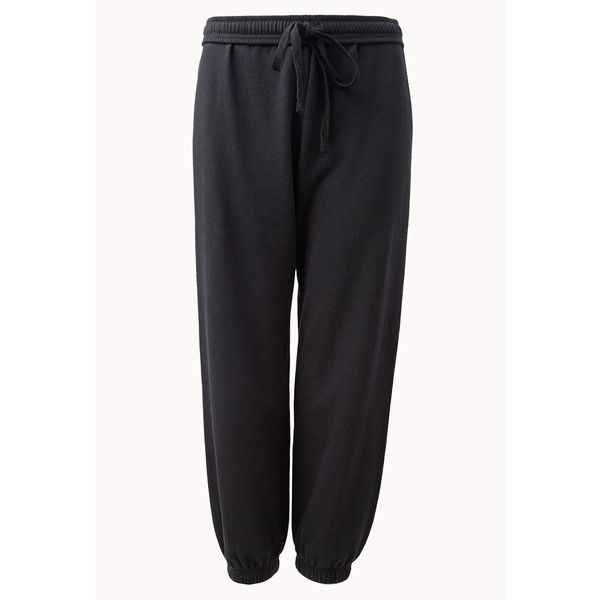 FOREVER 21 Cropped Lounge Sweatpants ($16) found on Polyvore