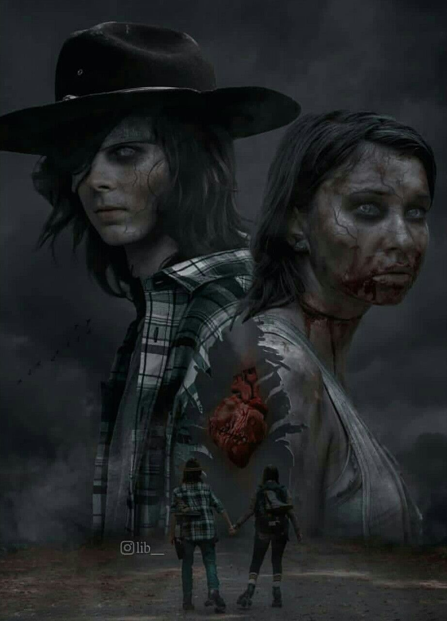 Carl Grimes And Enid Reunited Again Walking Dead Show Walking