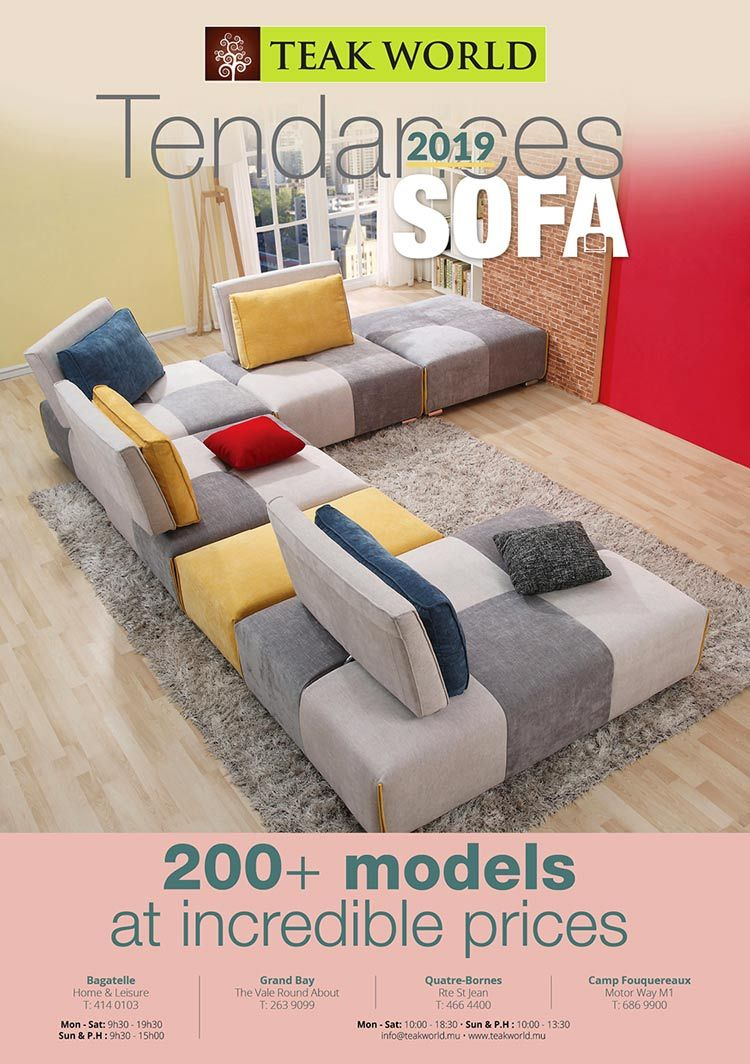 Pin by BlueFish eMarketing Mauritius on Furniture  Bedroom sofa