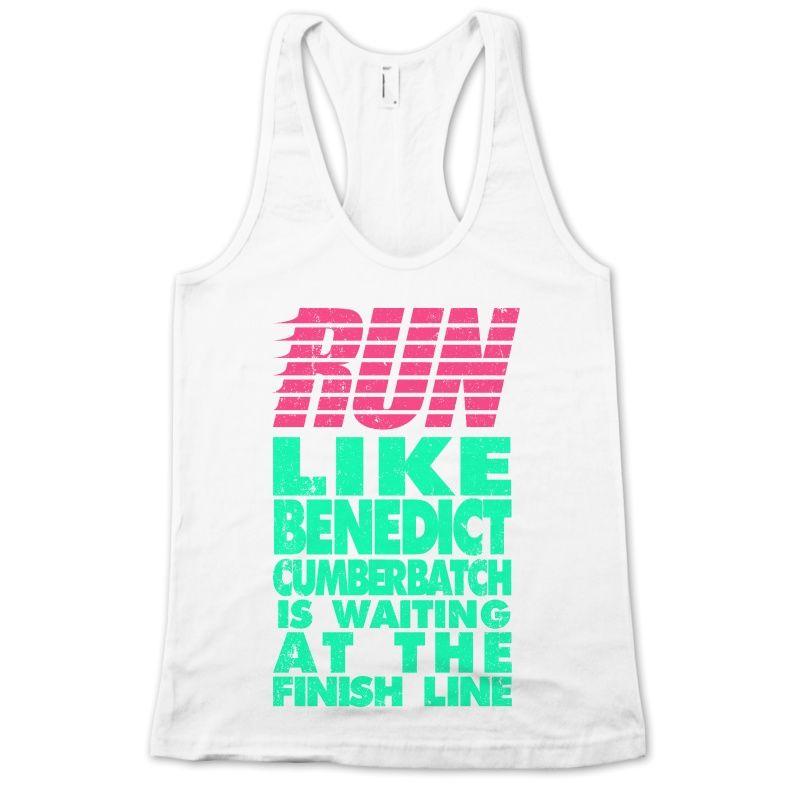 Run Like Benedict Cumberbatch | Activate Apparel | Workout Gear & Accessories