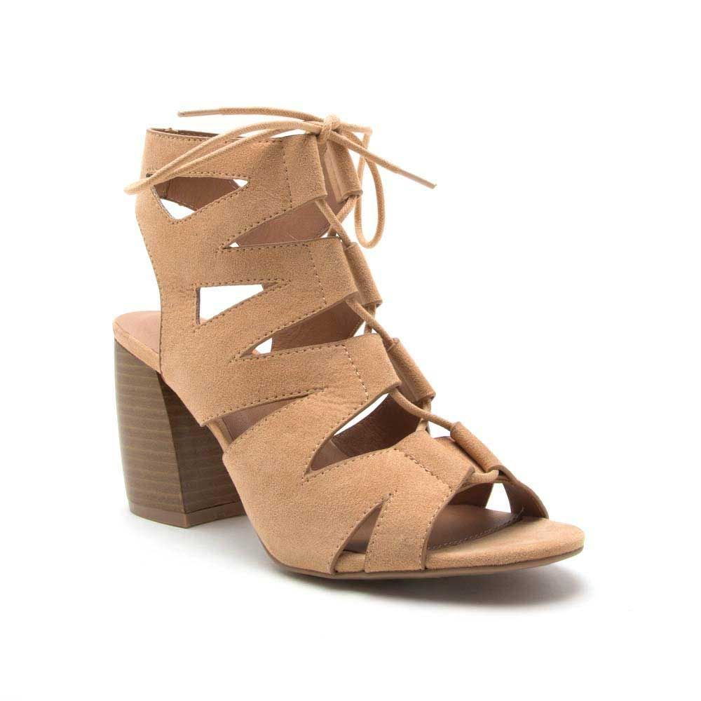 353cf398e403d1 Qupid Shoes Liam Sliver Wedge Sandals for Women in Light Grey LIAM-07 LT  GREY