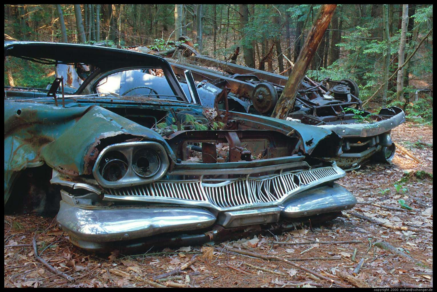 1960 Dodge| Junk Cars in Forest, Amherst, MA, May 2000 | Beauties ...