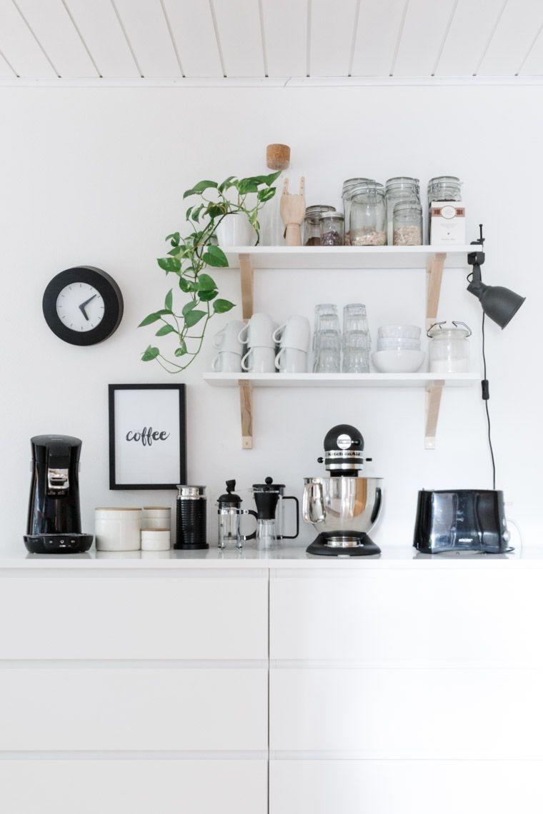 Unsere Küche {Tipps für eine gemütlichere Küche | Malm kommode ...