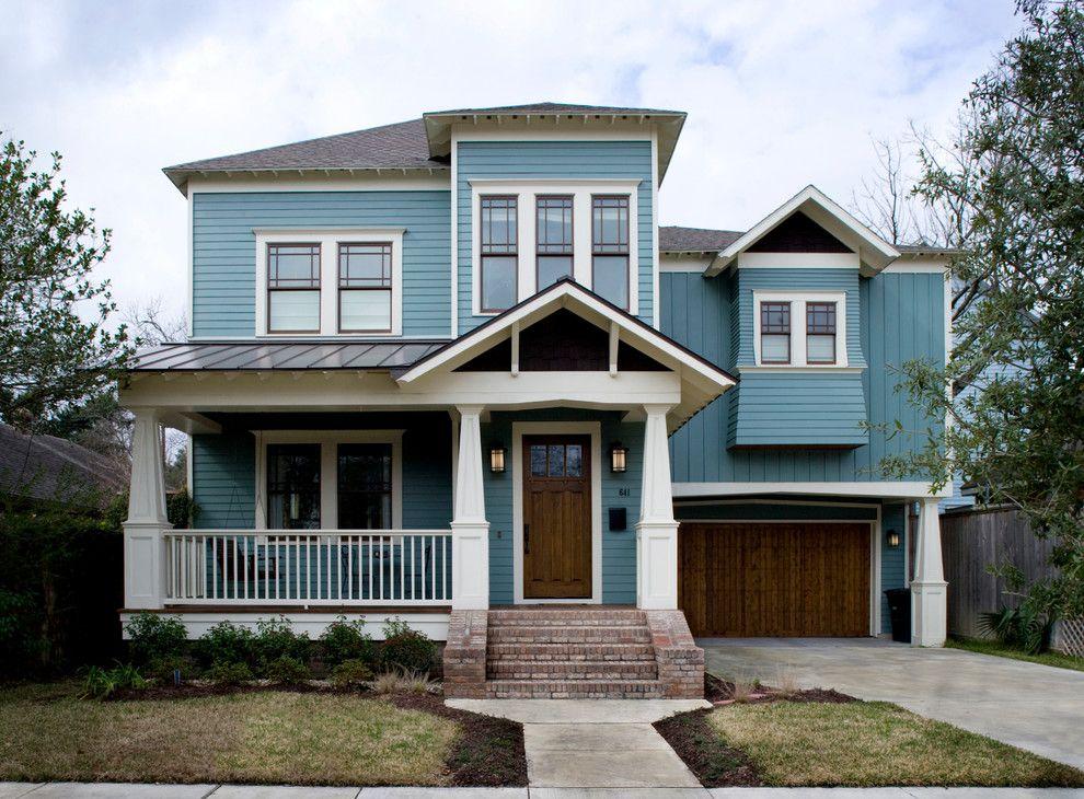 Houston Light Blue Paint Paint Colors Traditional Exterior