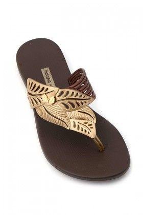 Ipanema Kahverengi Sunshine Terlik Lidyana Terlik Bayan Ayakkabi Sandalet