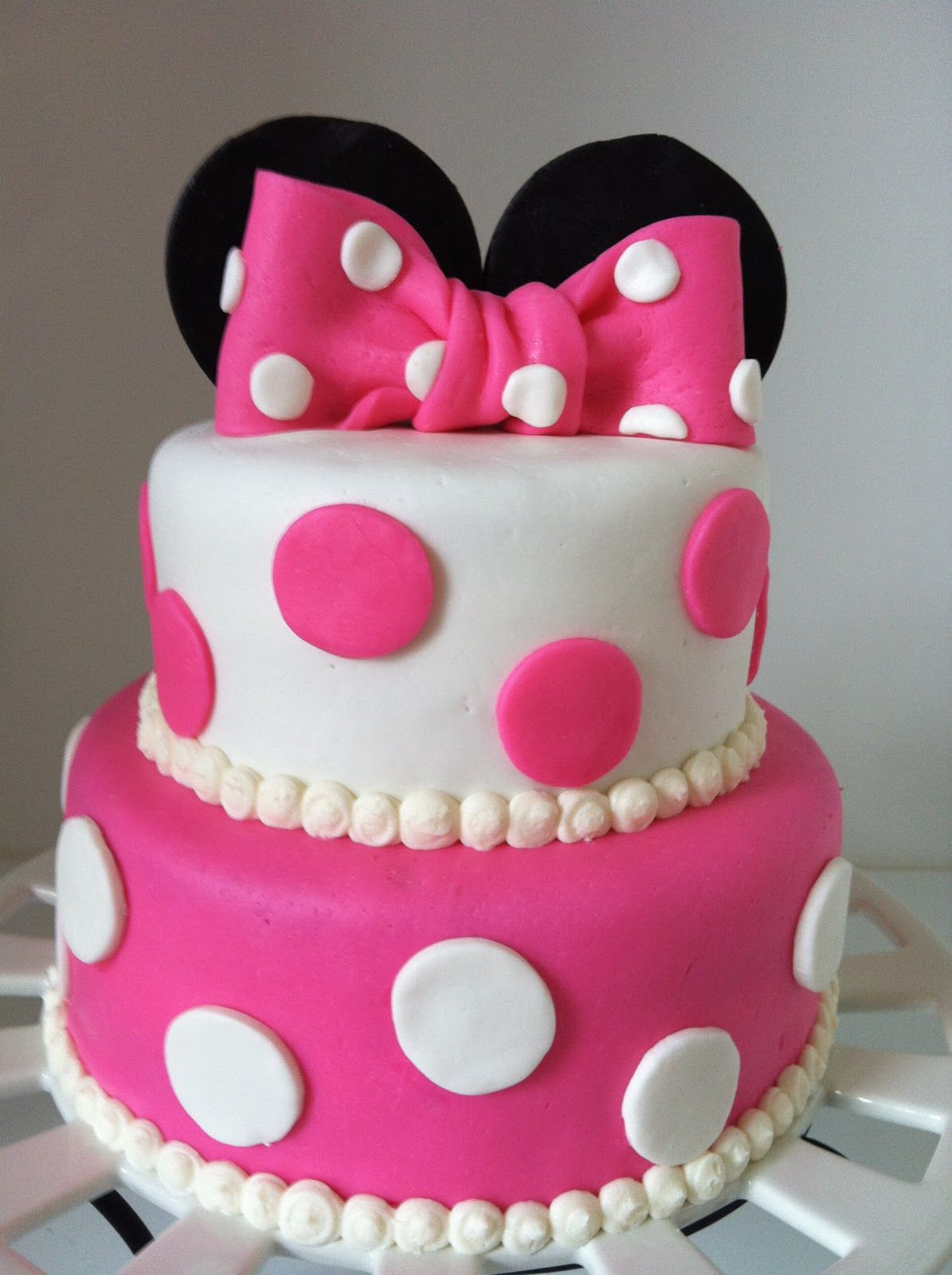 Minnie Mouse Birthday Cake Minnie mouse birthday cakes