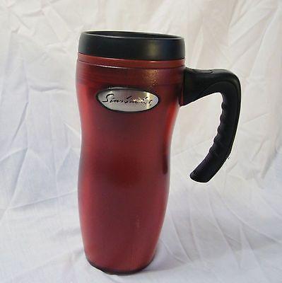 Starbucks Barista Travel Tumbler Mug Insulated Lid Handle 16