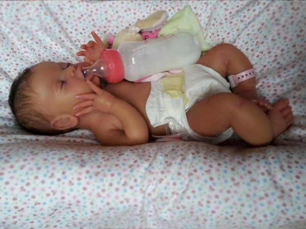 Bab Silicone 3 Poupees Reborn En Silicone Poupees Realistes Bebes Reborn