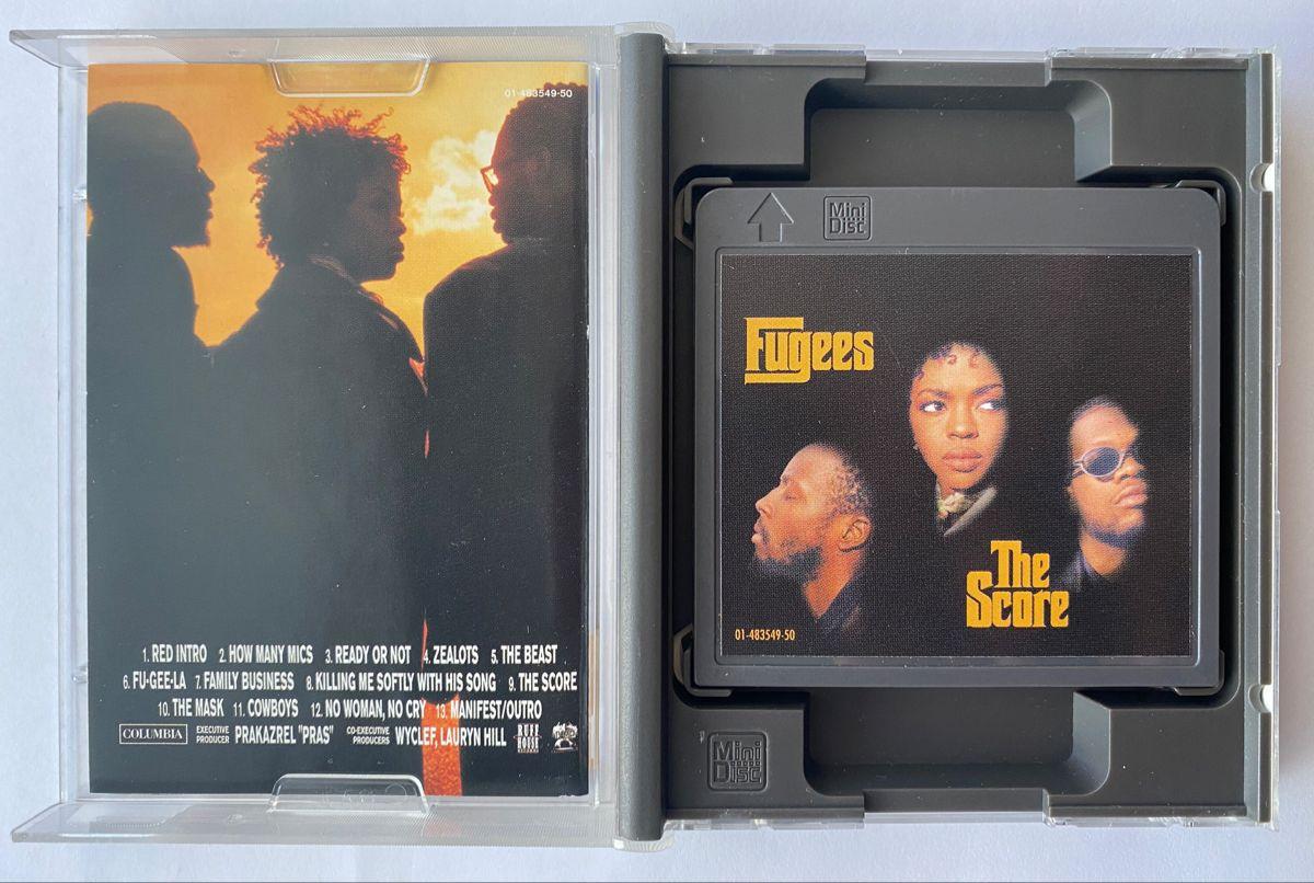Fugees The Score Md Minidisc Album 1996 In 2020 Fugees Album The Beach Boys